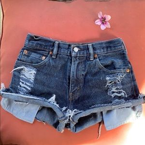 2 for 35 ❗️ Vintage Levi high rise shorts